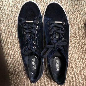 Michael kors velvet sneakers!!